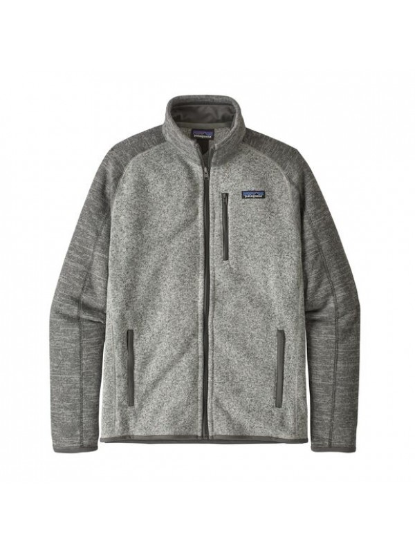 Patagonia Men's Better Sweater Fleece Jacket : Nickel w/Forge Grey