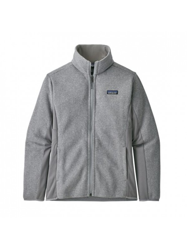 Patagonia Patagonia Women's Lightweight Better Sweater Fleece Jacket: Feather Grey