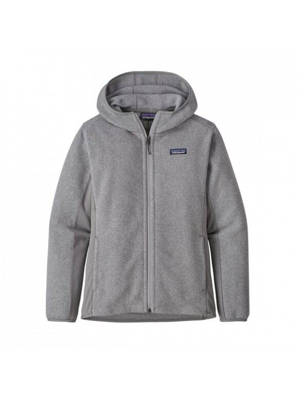 Patagonia Women's Lightweight Better Sweater Fleece Hoody : Feather Grey