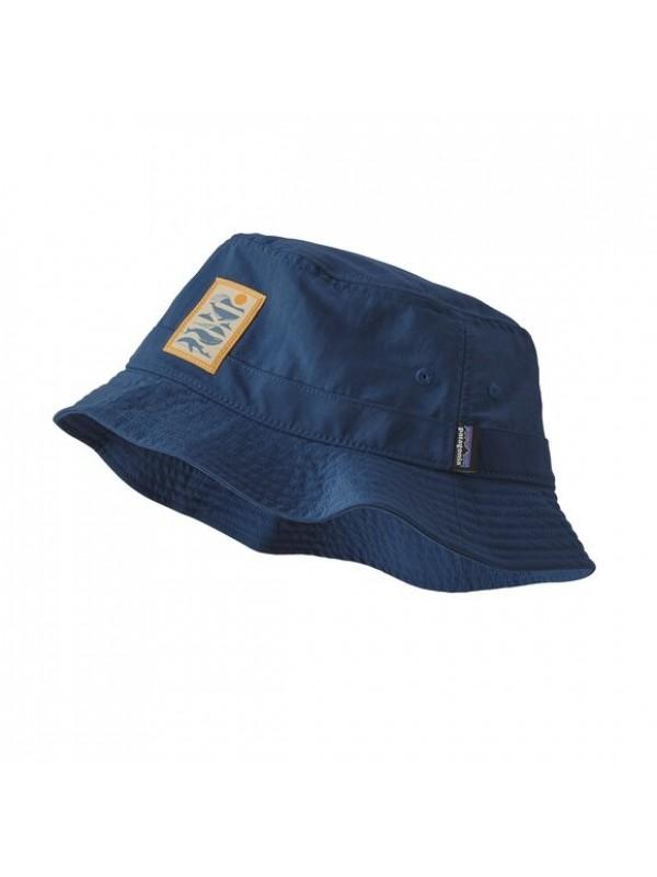 Patagonia Wavefarer Bucket Hat : Whale Tail Tubes: Stone Blue