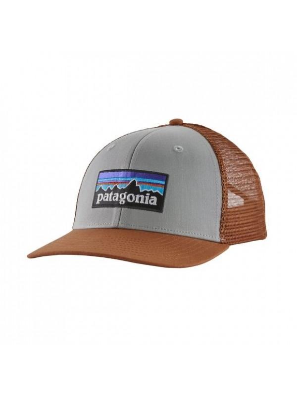 Patagonia P-6 Logo Trucker Hat : Drifter Grey