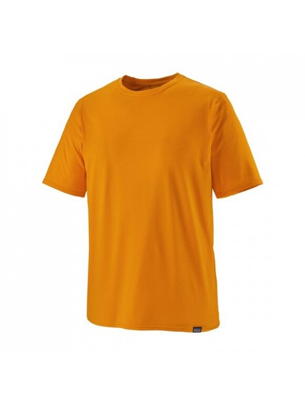 Patagonia Men's Capilene Cool Daily Shirt : Mango - Light Mango X-Dye