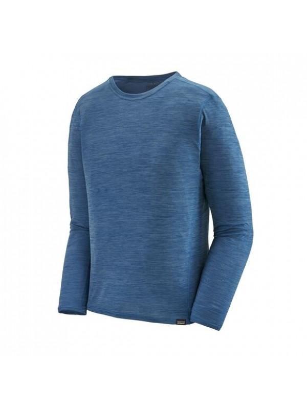Patagonia Men's Long-Sleeved Capilene® Cool Lightweight Shirt : Superior Blue - Light Superior Blue X-Dye