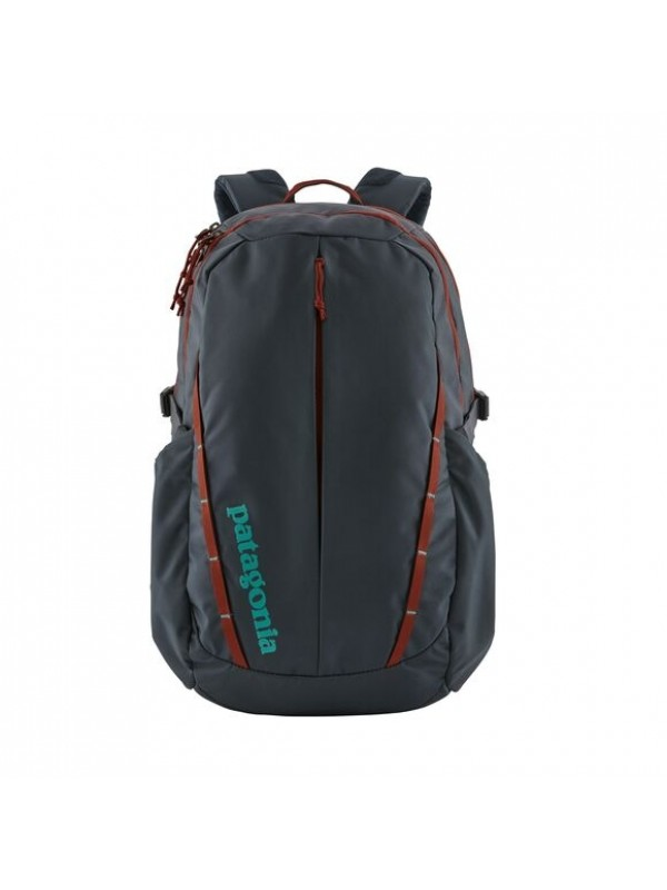 Patagonia Refugio Backpack 28L  : Smoulder Blue w/ Roots Red