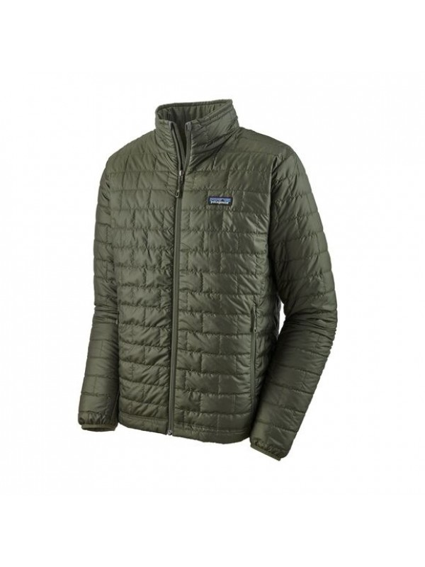 Patagonia Mens Nano Puff Jacket : Kelp Forest