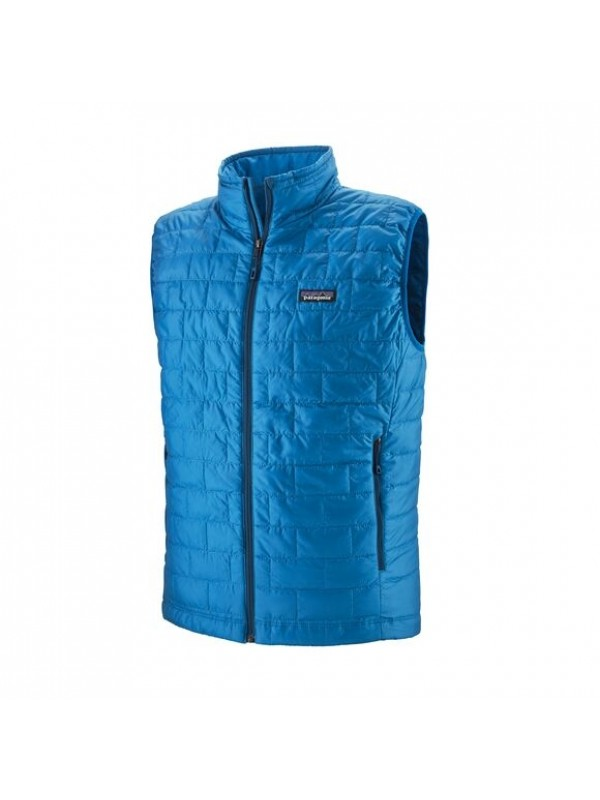 Patagonia Nano Puff Vest : Andes Blue w/Andes Blue