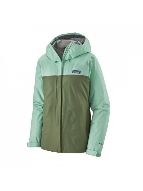 Patagonia Women's Torrentshell 3L Jacket : Gypsum Green