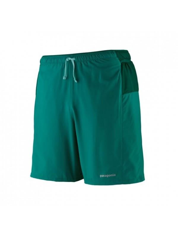 """Patagonia Men's Strider Pro Running Shorts - 7"""": Borealis Green"""