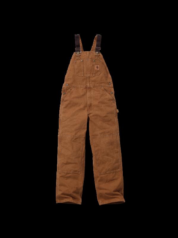 Carhartt R06 Sandstone Bib Overall