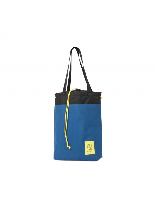 Topo Designs Cinch Tote 12L : Blue / Black