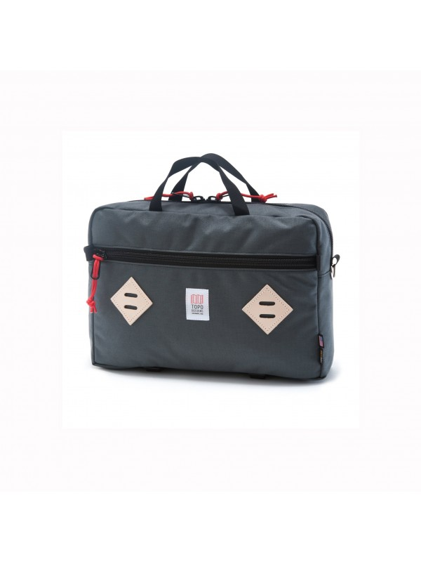 Topo Designs Mountain Briefcase 14L : Charcoal