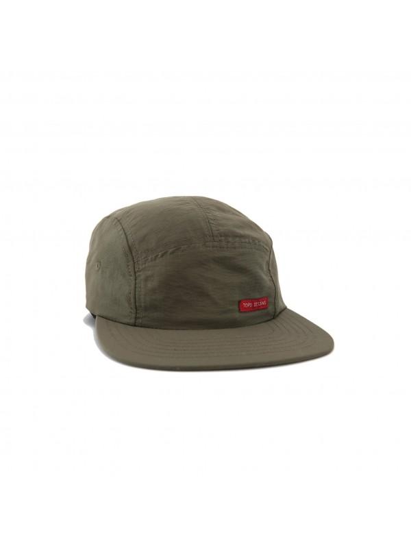 Topo Designs Nylon Camp Hat : Olive