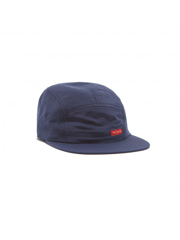 Topo Designs Nylon Camp Hat : Navy