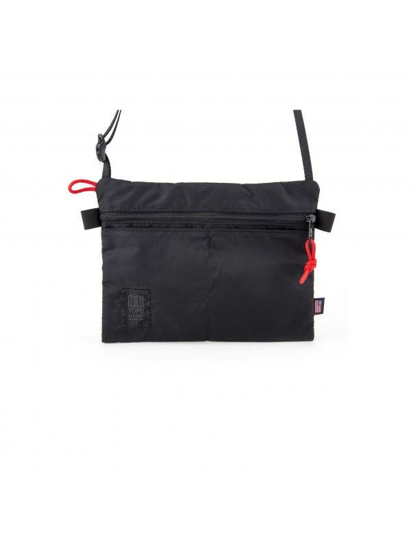 Topo Designs Shoulder Bag : Black