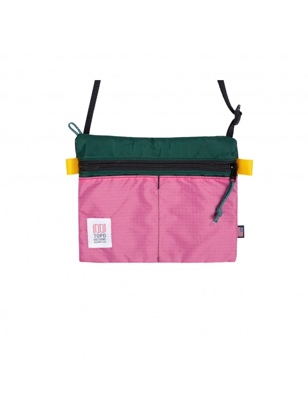 Topo Designs Shoulder Bag : Forest / Berry