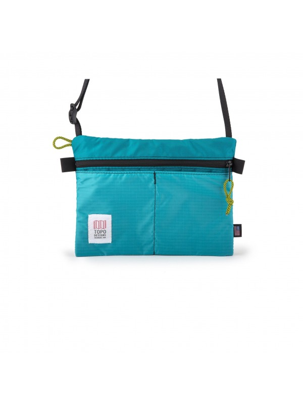 Topo Designs Shoulder Bag : Turquoise