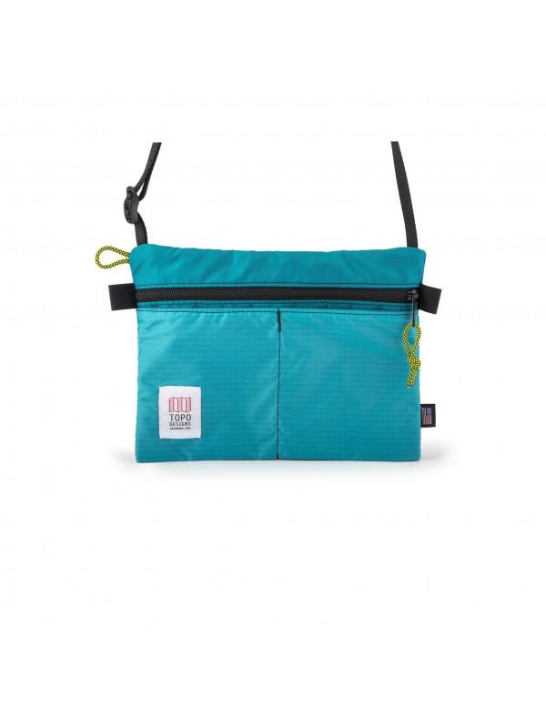 Topo Designs Shoulder Bag : Turquoise
