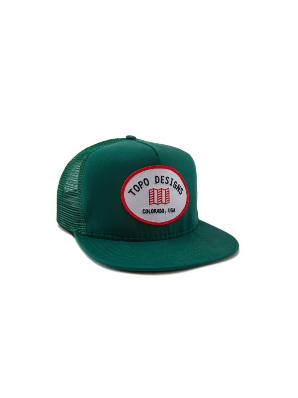 Topo Designs Snapback Hat : Green