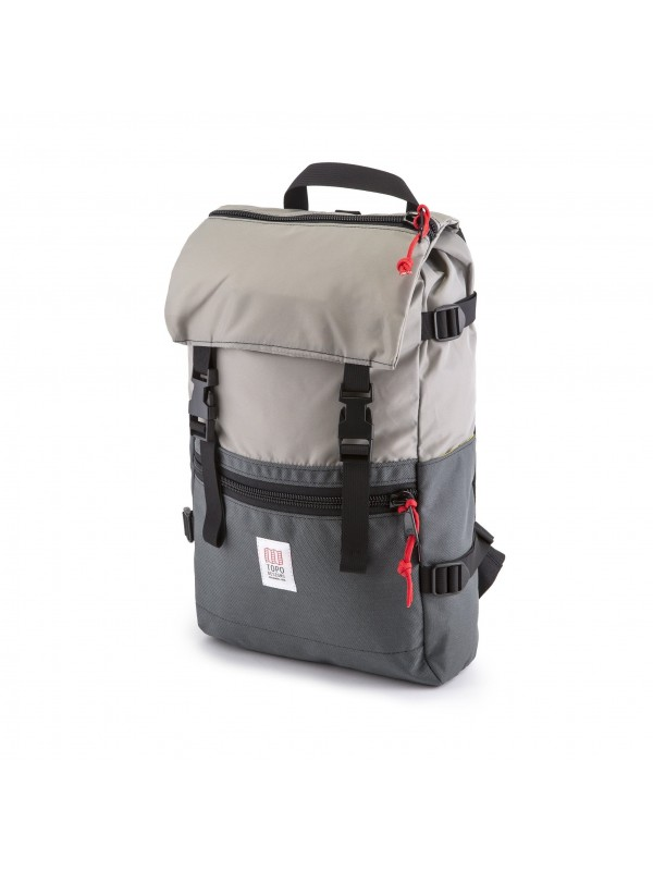 Topo Designs Rover Pack 20L : Silver / Charcoal