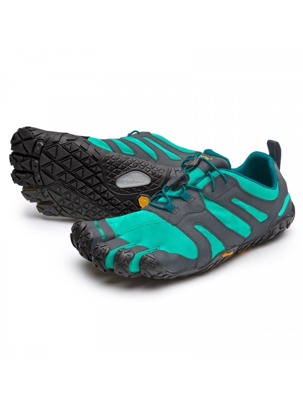 Vibram Five Fingers Womens V - Trail 2.0 : Green-Grey/black