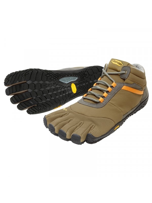 Vibram Five Fingers Trek Ascent Insulated : Khaki / Orange