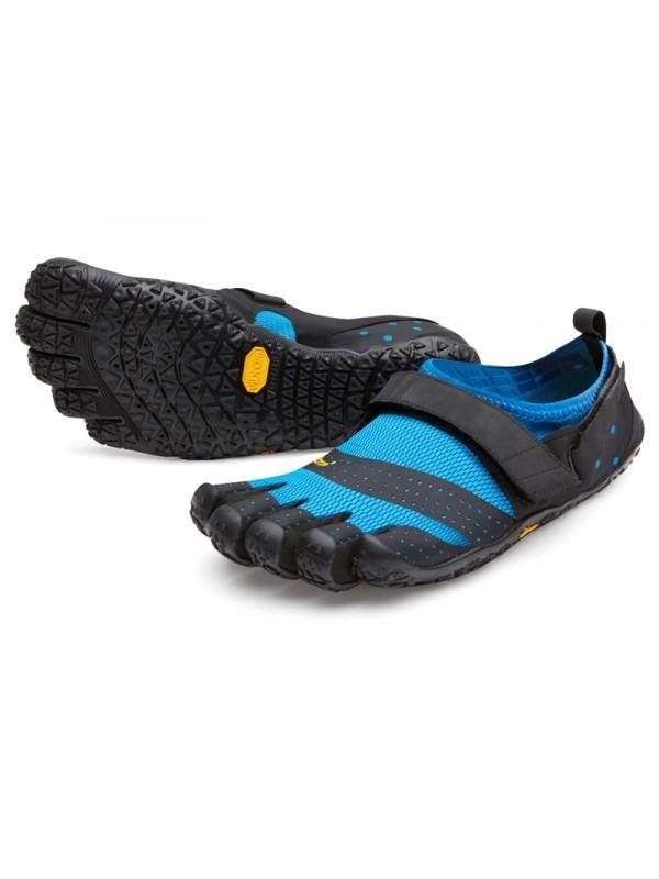 Vibram FiveFingers V-Aqua Mens : Blue Black
