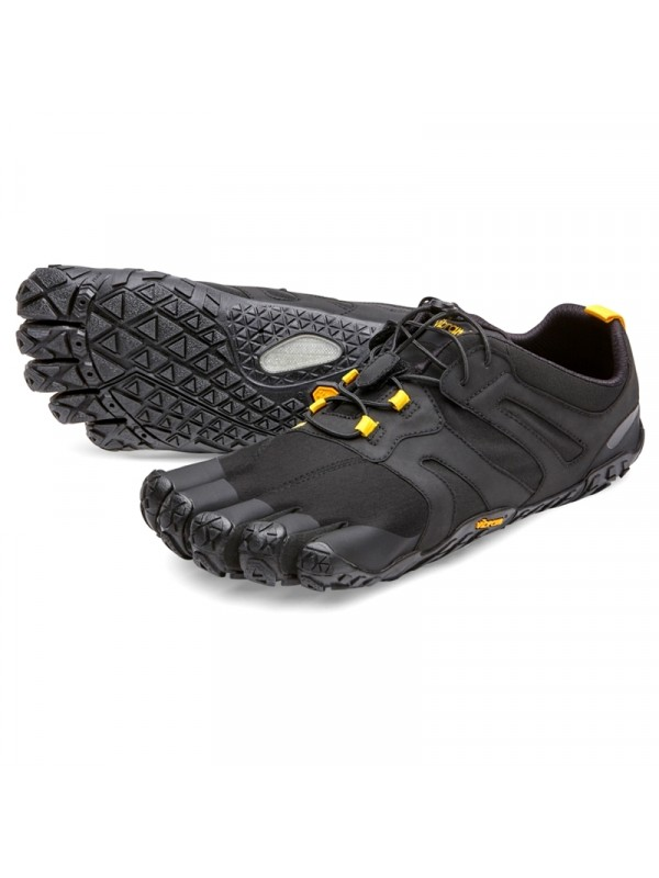 Vibram Five Fingers Womens V - Trail 2.0 : Black Yellow