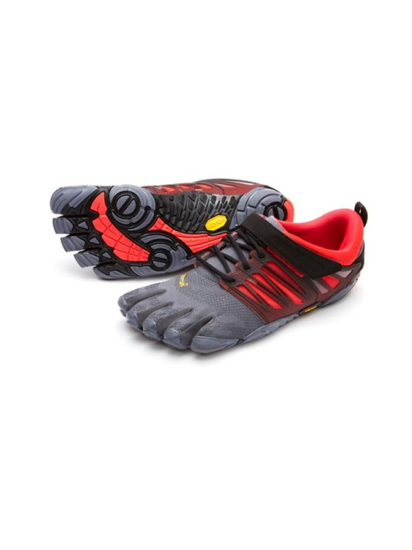 Vibram FiveFingers V-Train : Grey / Black / Red