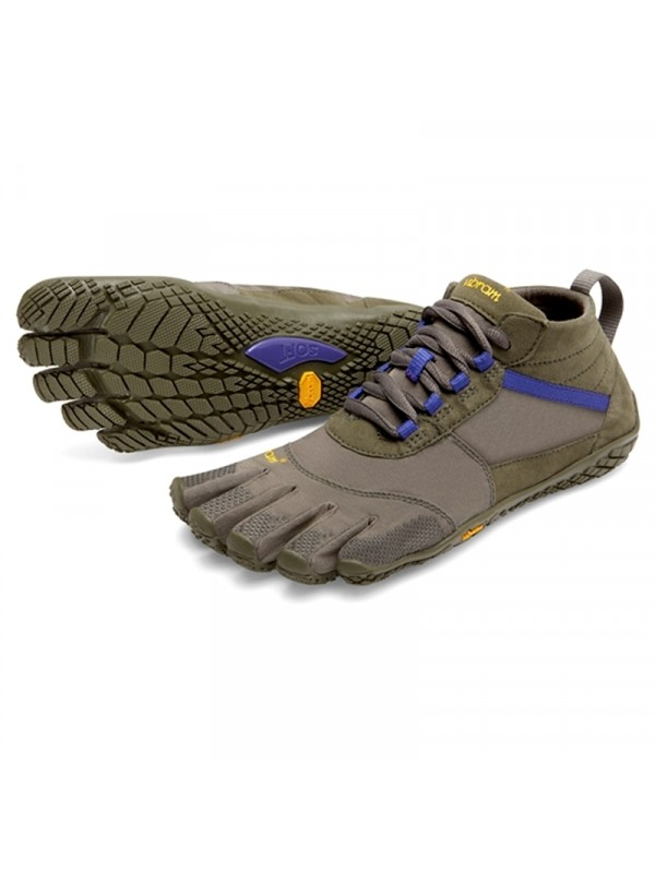 Vibram FiveFingers Womens V-Trek : Military / Purple