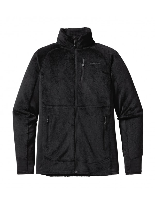 Patagonia Mens R2 Fleece Jacket : Black