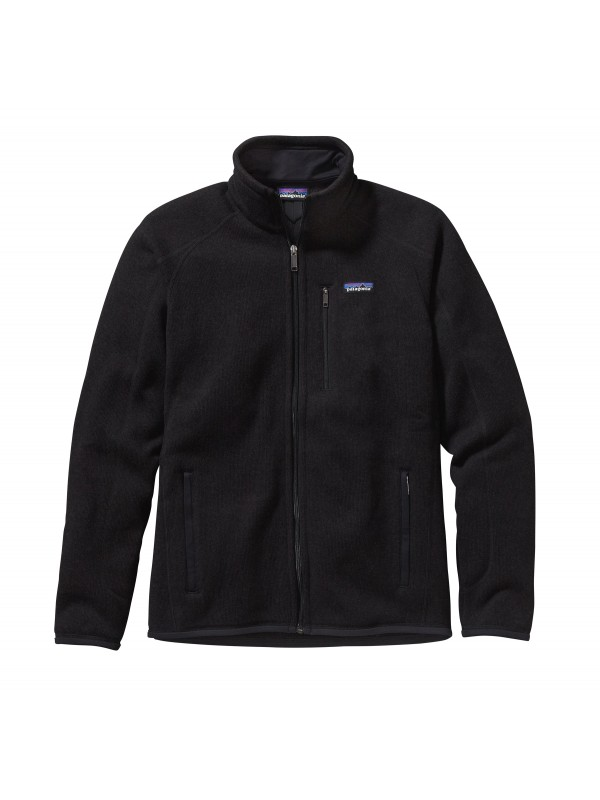 Patagonia Mens Better Sweater Fleece Jacket : Black