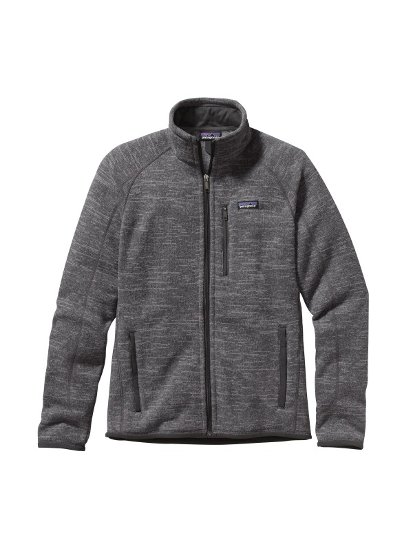 Patagonia Mens Nickel / Forge Grey Better Sweater Fleece Jacket