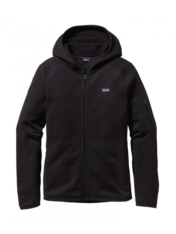 Patagonia Women's Better Sweater™ Full-Zip Hoody : Black