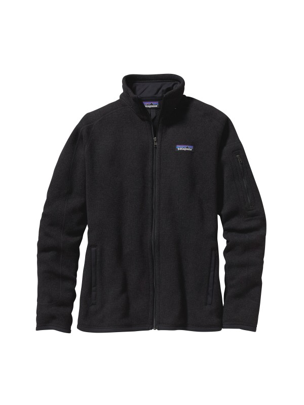 Patagonia Women's Better Sweater Fleece Jacket: Black