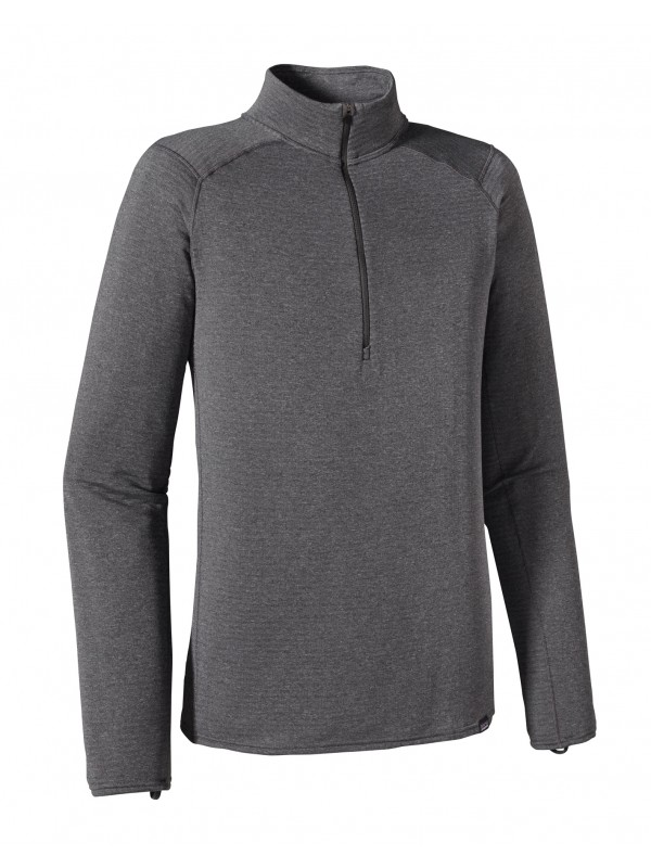 Patagonia Forge Grey Capilene Thermal Weight Zip-Neck
