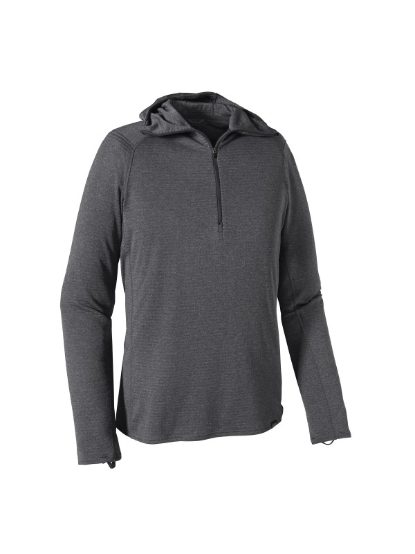 Patagonia  Capilene Thermal Weight Zip-Neck Hoody ; Forge Grey