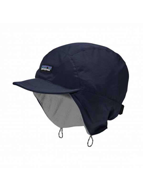 Patagonia Navy Blue Shelled Synchilla Duckbill Cap
