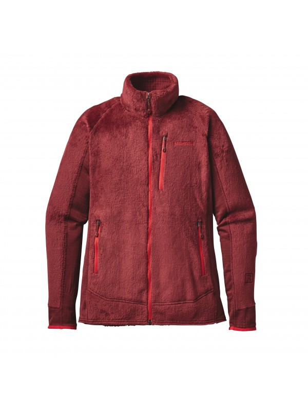 Patagonia Women's R2 Fleece Jacket: Drumfire Red