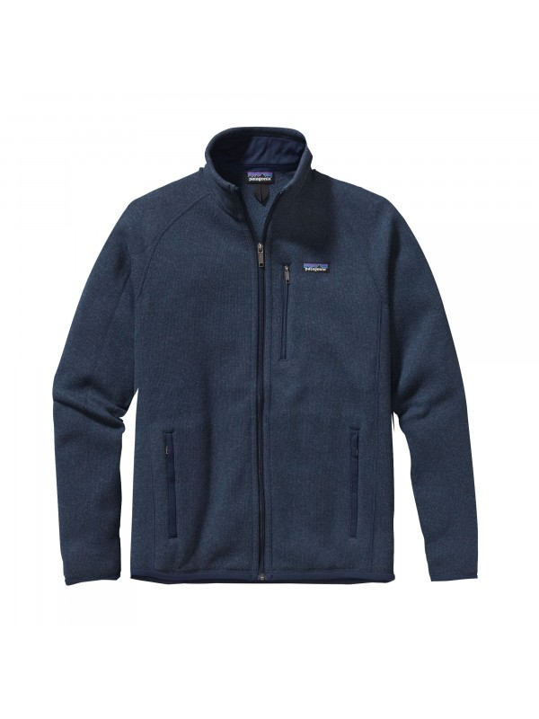 Patagonia Mens Classic Navy Better Sweater Fleece Jacket
