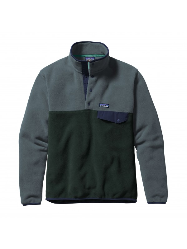 Patagonia Carbon European Fit Lightweight Synchilla® Snap-T Fleece Pullover