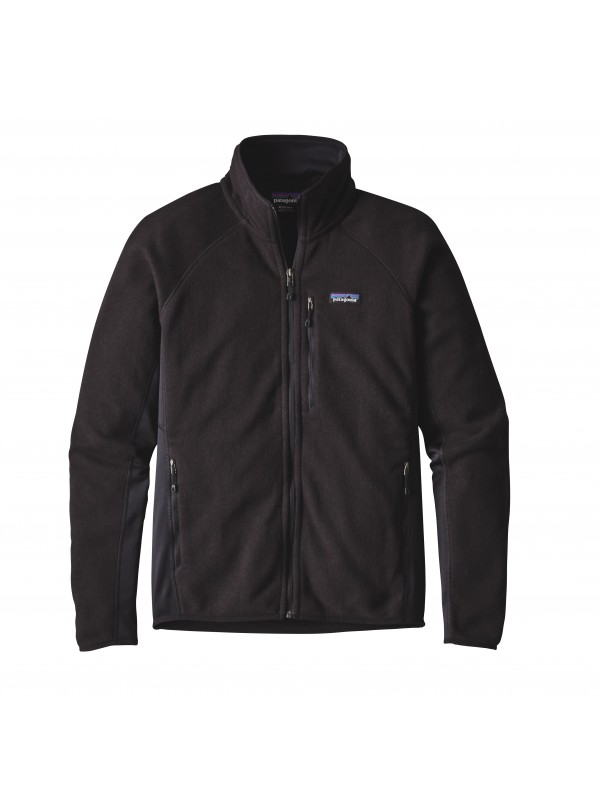 Patagonia Mens Black Performance Better Sweater Fleece Jacket