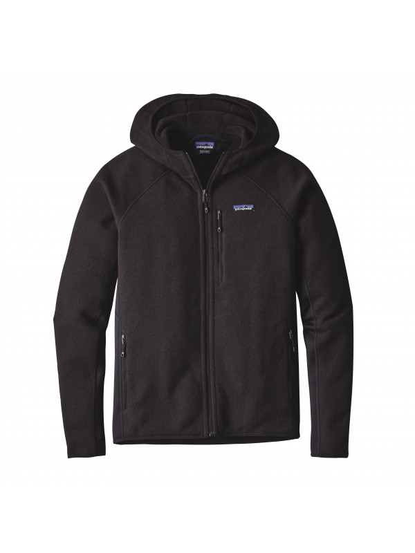 Patagonia Mens Performance Better Sweater Fleece Hoody : Black