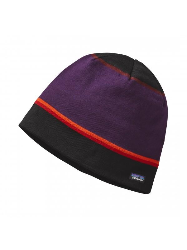 Patagonia Beanie Hat-Coastline Stripe: Black (CSTB)-One Size