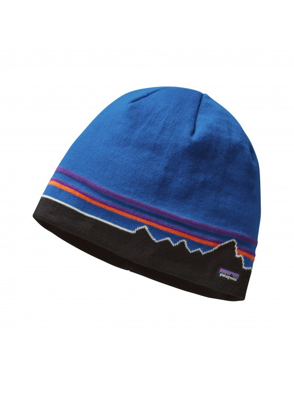 Patagonia Beanie Hat : Fitz Roy Line : Andes Blue