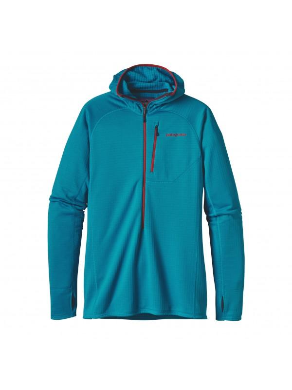 Patagonia Men's R1 Hoody : Grecian Blue