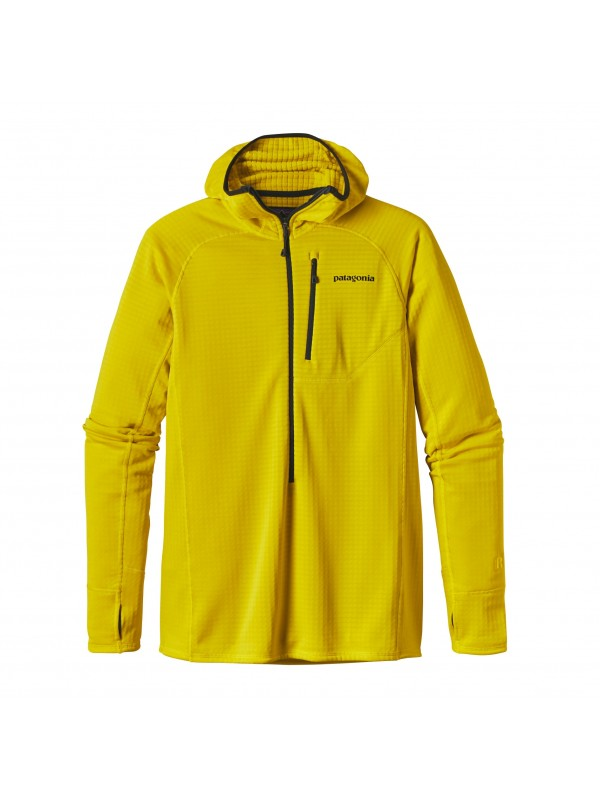 Patagonia Men's R1 Hoody : Yosemite Yellow