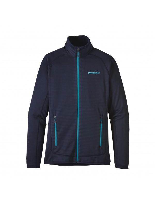 Patagonia Women's R1 Full-Zip Fleece Jacket: Navy Blue