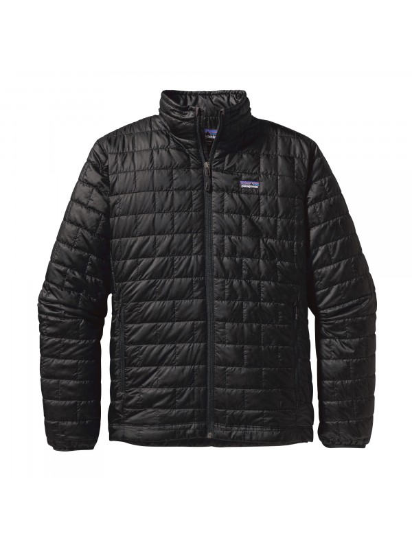 Patagonia Mens  Nano Puff Jacket : Black