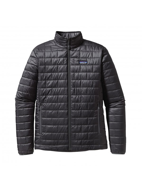 Patagonia Mens Nano Puff Jacket : Forge Grey