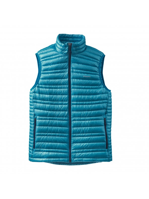 Patagonia Grecian Blue Ultralight Down Vest